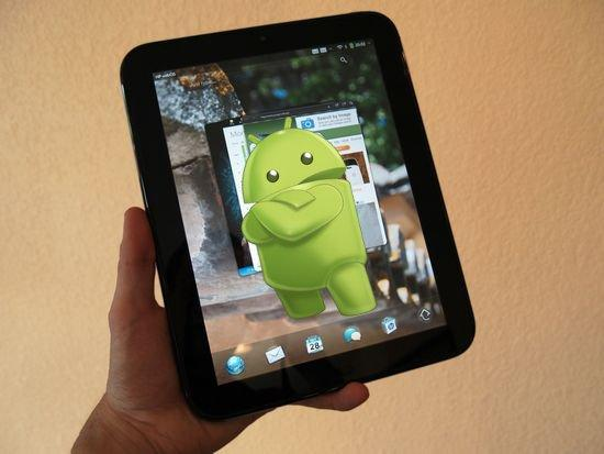The TouchPad was originally an Android Tablet?!