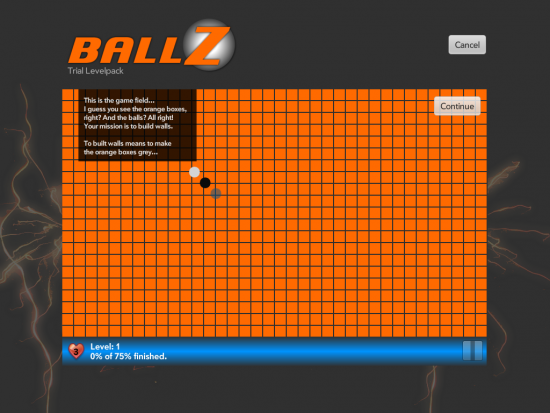 BallZ HD intro for touchpad