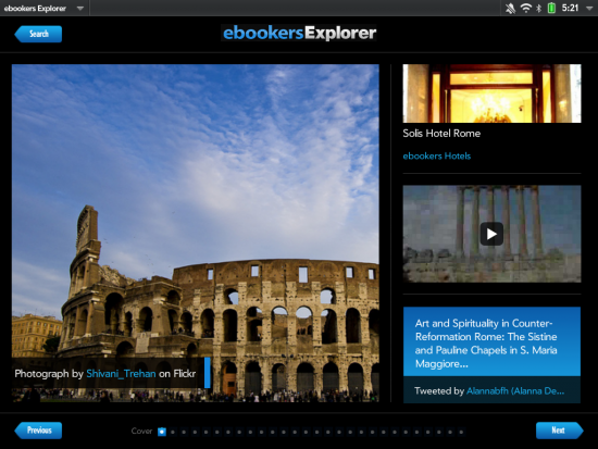 ebooker explorer for touchpad
