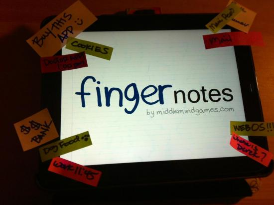 App Review: Finger Notes