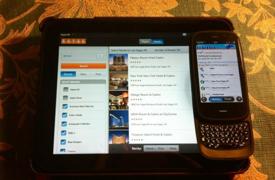 webOS Apps for Travel