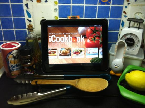webos cooking and grilling apps