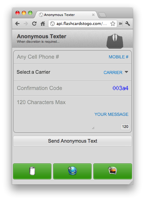 Anonymous Texter