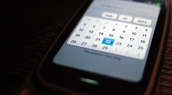 The webOS Wish List: Grid date picker