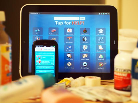 webOS apps for first aid