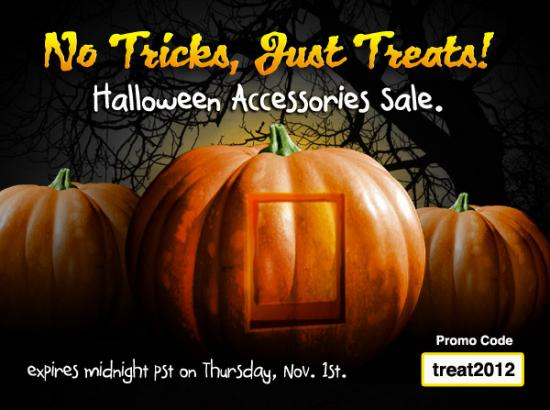 No Tricks, Just Treats Halloween Sale - Save 15% on ALL Accessories at the webOS