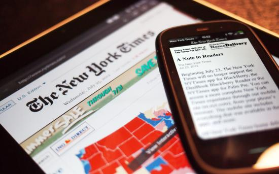 New York Times discontinues otherwise functional webOS app