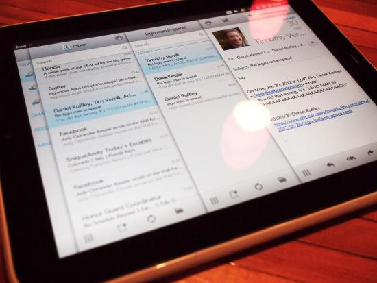 Threaded webOS email app in the works, open sourced