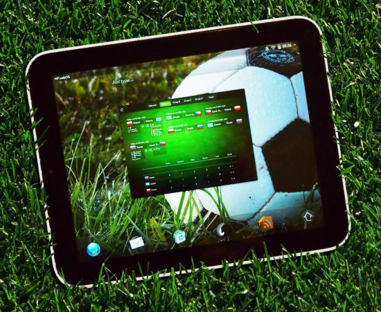 Euro 2012 puts all the latest UEFA scores on your TouchPad + giveaway!