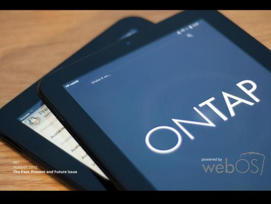 webOS onTap homebrew Pivot gets a preview, coming later month