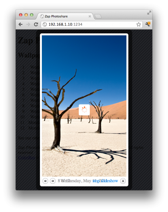 App Review: Zap Photoshare