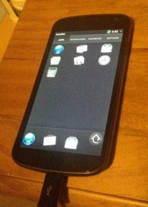 Tweaking Open webOS for phone-sized screens